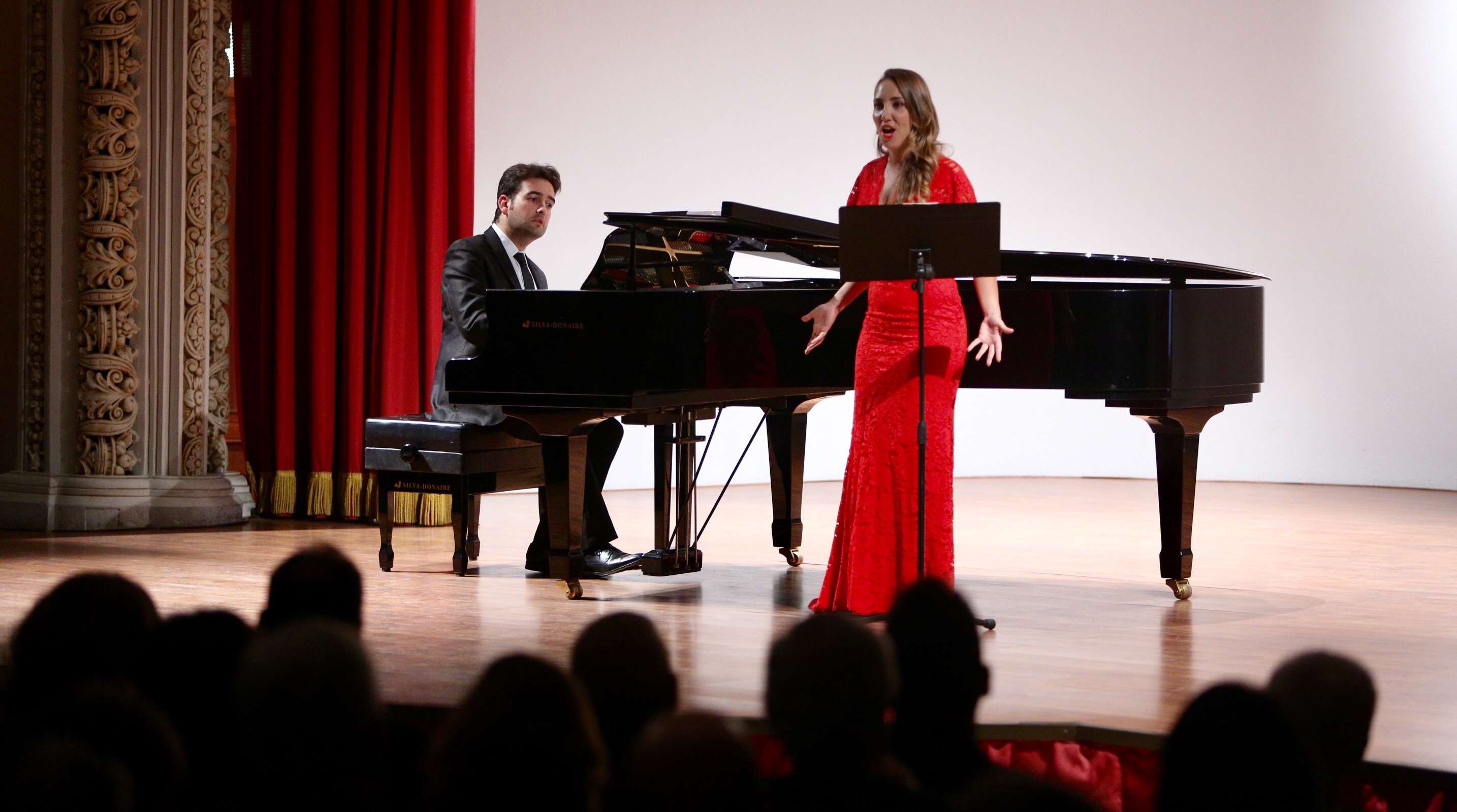 Carolina Gilabert & Miguel Ángel Acebo. Recital in Sevilla